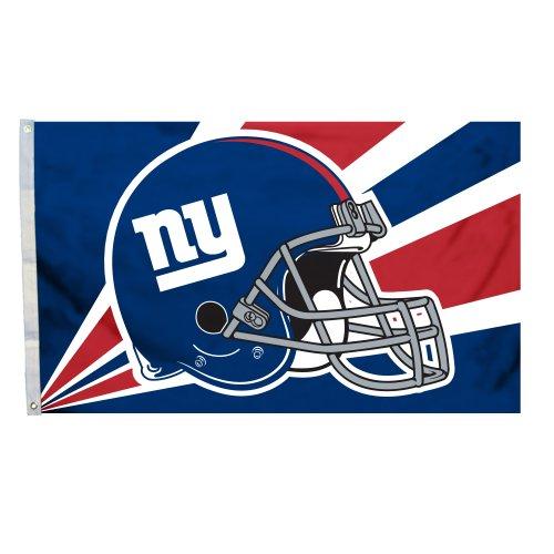 NFL New York Giants 3-by-5 Foot Helmet - York New Malls