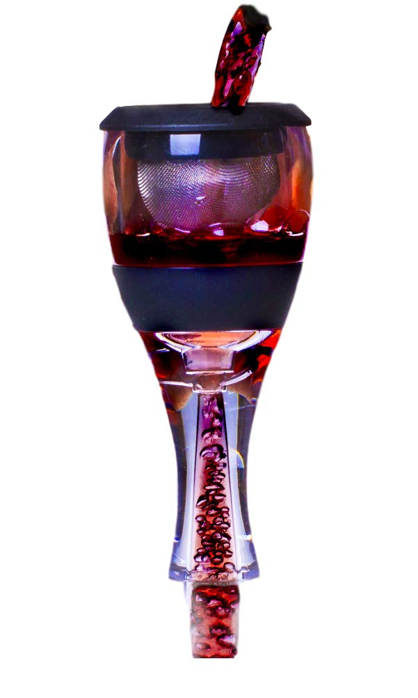 Wine Aerator, Diffuser, Pourer, Decanter - with Carrying Pouch
