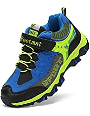 Feetmat Boys Hiking Shoes Waterproof Kids Sneaker