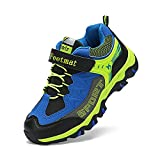 Feetmat Boys Trail Running Shoes Waterproof Basketball Higking Sneakers for Kids