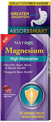 Natrol Absorption Magnesium Tablets Count