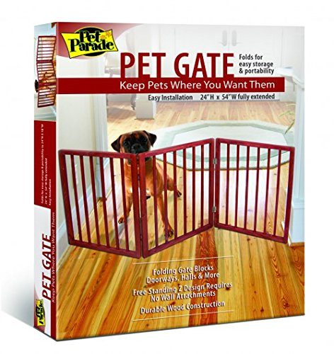 Folding Pet Gate - Pet Parade Folding Pet Gate
