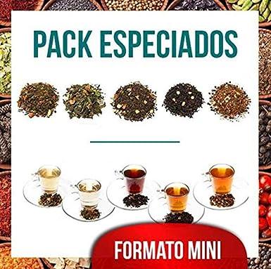 Aromas de Té - Mini Pack Té Especiados -contiene Té Verde Arcoiris ...