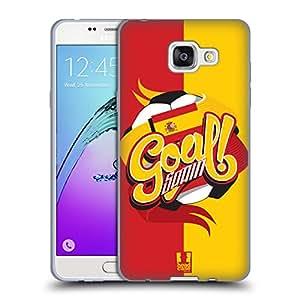 Head Case Designs Spain Football Countries Set 2 Soft Gel Case for Samsung Galaxy A5 (2016)