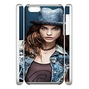 barbara palvin with hatwide iphone 5c Cell Phone Case 3D White yyfD-040458