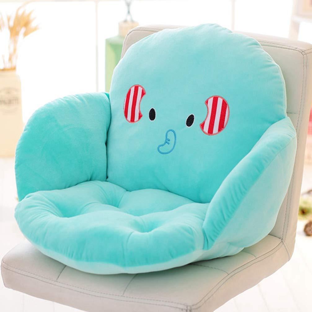 MEIZOKEN Cartoon Animal Soft Cotton Seat Cushion Pillow,Back Seat Chair Cushion For Car Office,Home Decoration Sofa Waist Throw Cushion