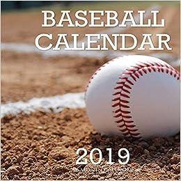 Year Calendar 2019-16 Baseball Calendar 2019: 16 Month Calendar: Mason Landon