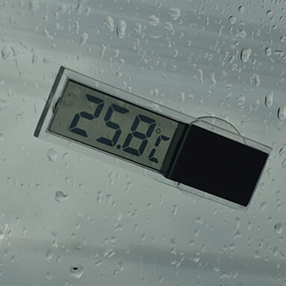 Mini Electronic LCD Display Window Clock Automotive Replacement Clock Suction Cup Car Clock AOZBZ Car Clock Car Clock