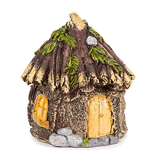 Miniature Enchanted Cottage Hobbit Shabby