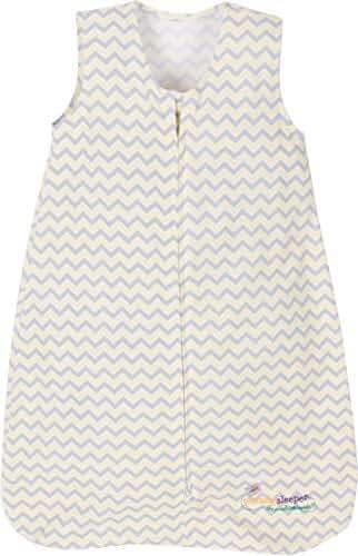 Miracle Blanket Sleeper Wearable Blanket Sack, Yellow Chevron, Medium (9-18 months)