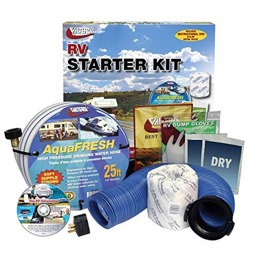 Valterra K88105DVD Standard RV Accessory Starter Kit with DVD