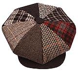 New 8 Panel Newsboy Applejack Cabbie Gatsby Driving Big Apple Tweed Ivy Golf Cap Hat