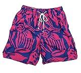 True Grit Mens Viceroy Drawstring Board Shorts-Navy-xxl