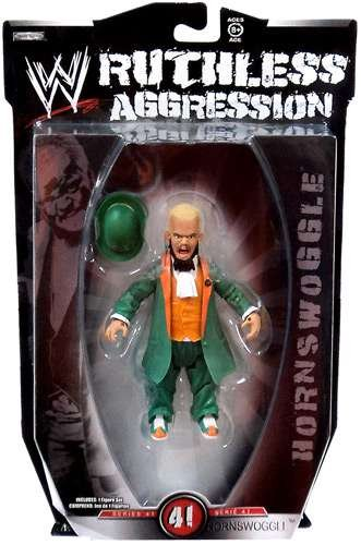 Jakks Pacific WWE Wrestling Ruthless Aggression Series 41 Hornswoggle Action Figure -