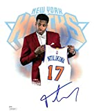 Frank Ntilikina Signed NY Knicks Authentic Autographed 8x10 Photo JSA #SD23824