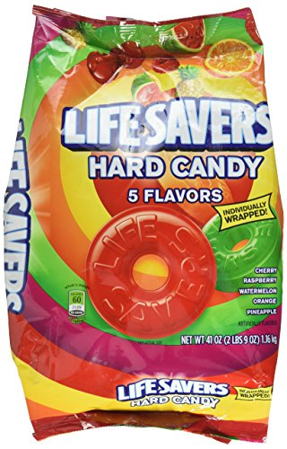 Life Savers Five Flavors Hard Candy Bag, 41 ounce (2 Bags)