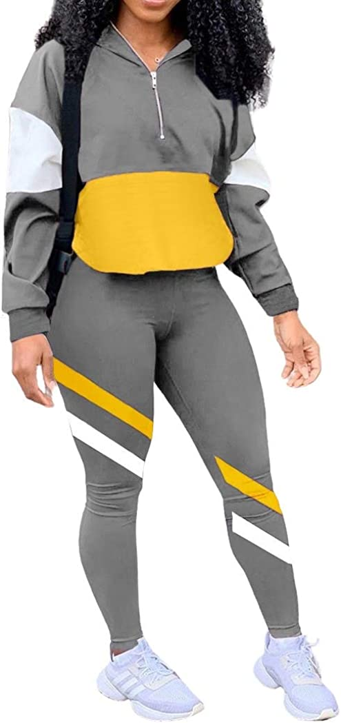 EOSIEDUR Women Casual Tracksuit 2 Piece Zip Top Jacket and Elastic Waistband Pant Women Windbreaker Tracksuit Sets at  Women's Clothing store