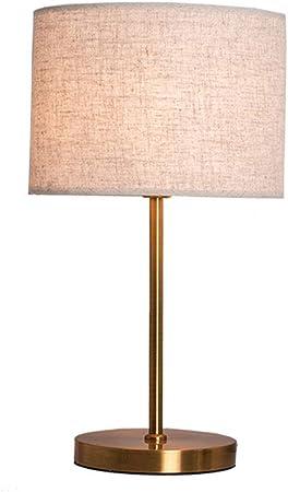 Dsqcai Lampe de Table de Chevet Lampe décorative en métal en