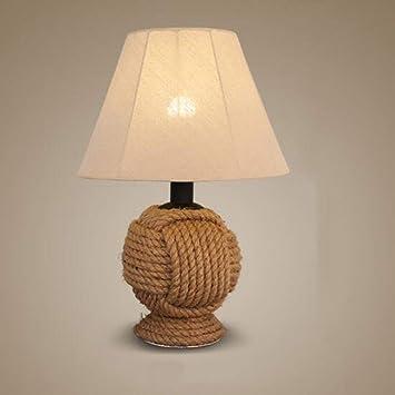 Table Wlg Chanvre Lampe De Corde Led ukXZOPi