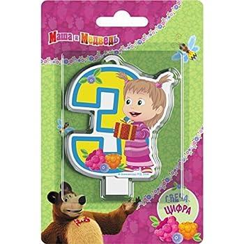 Amazon.com: Masha y el oso suministros para fiesta de ...