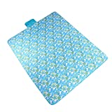 Moisture proof pad Picnic Mat, Outdoor Mat Home Yoga Mat Wild Travel Mat Striped Foldable (Color : A)