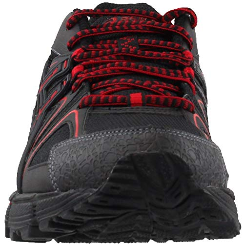 ASICS Mens Gel-Kahana 8 Running Shoe Black/Classic Red/Phantom 6 Medium US by ASICS (Image #4)