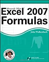 Excel 2007 Formulas Front Cover