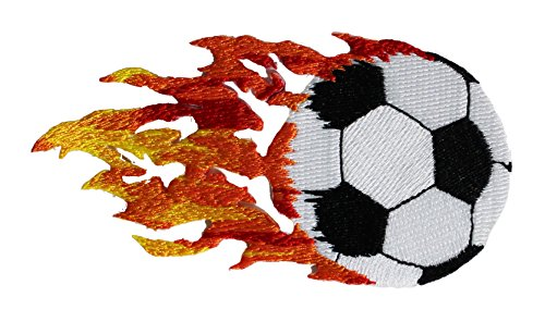 - Application DSX Soccer Ball with Flames Patch