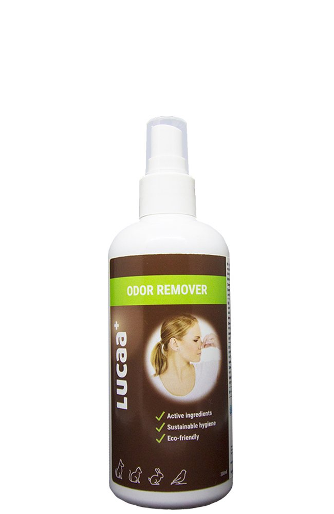 LUCAA+ Destructeur d'Odeurs/Anti-odeurs Animaux/Chiens/Chats 300 ML | Anti-odeurs Naturel aux Probiotiques | Bio, Vegan & Naturel Probiotic Group BATCH 08/02/2017-LUC004