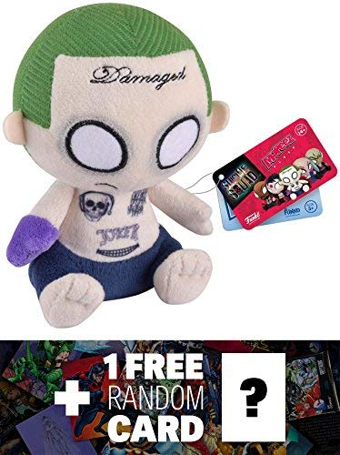 The Joker: Funko Mopeez x Suicide Squad Plush Figure Series + 1 FREE Official DC Trading Card Bundle (085070) ()