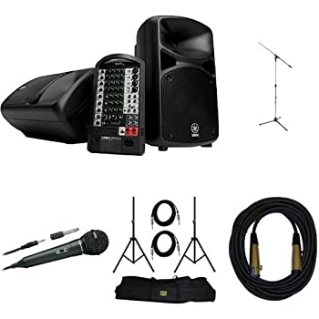 yamaha stagepas 600i portable pa system with. Black Bedroom Furniture Sets. Home Design Ideas