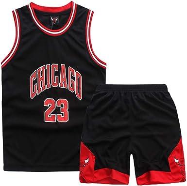BFDC Adecuado para Camisetas de Baloncesto de los fanáticos de los toros NO.23, Camisas para niños, Chalecos, Pantalones Cortos, Uniformes de Entrenamiento para Juegos: Amazon.es: Ropa y accesorios