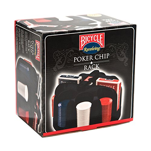 Bicycle Carousel Poker Set, 200 2-Gram Poker Chips and 2 Decks of Bicycle Cards (Carousel 200 Chip)