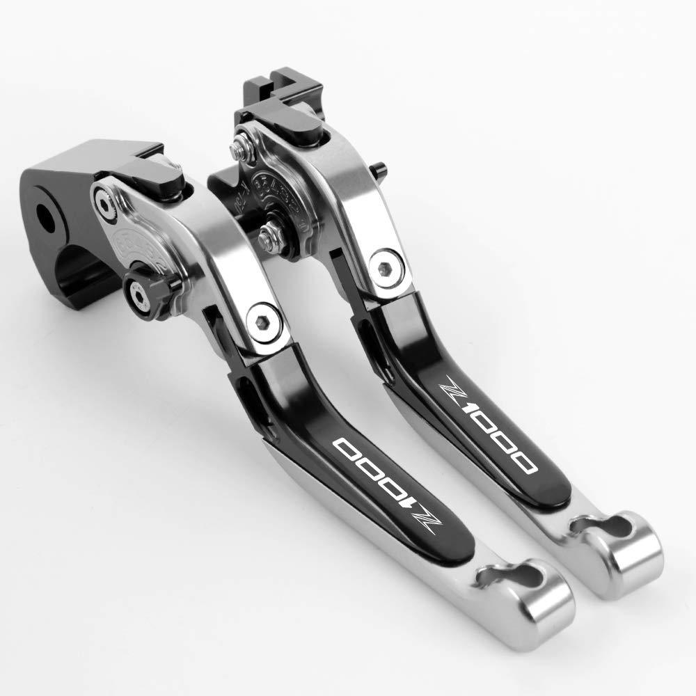 Palanca de embrague de freno extensible CNC aluminio para Kawasaki Z1000SX Tourer 2011-2016 NINJA 1000