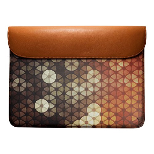Air bykyh Leather 13 Macbook For Pro tyssyllyte Envelope Sleeve Real DailyObjects 8adqBxnHB