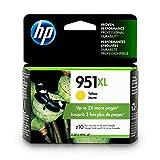 HP 951XL Ink Cartridge, Yellow High Yield (CN048AN) for HP Officejet Pro 251, 276, 8100, 8600, 8610, 8620, 8625, 8630