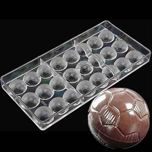 Molde de policarbonato con forma de balón de fútbol MOMA, molde de ...