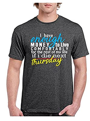 Daresay Funny Men's T-Shirt with Message – Sarcastic T-Shirt -