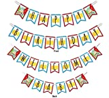Barnyard Farm Animals Multi-Use Happy Birthday or Welcome Baby Shower Party Banner Decoration (23ft Ribbon)