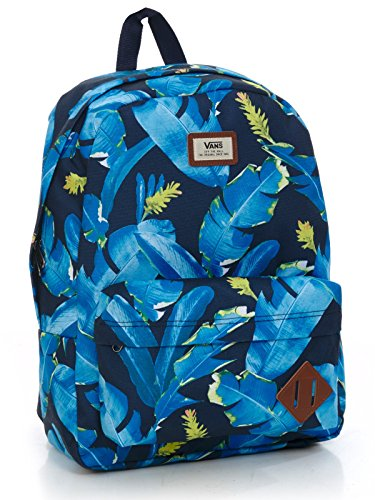 Vans - Old Skool Ii, bolsa de medio lado Hombre, Multicolor (el Guapo), Talla Unica Azul (Dress Blues Bonsai Leaf)