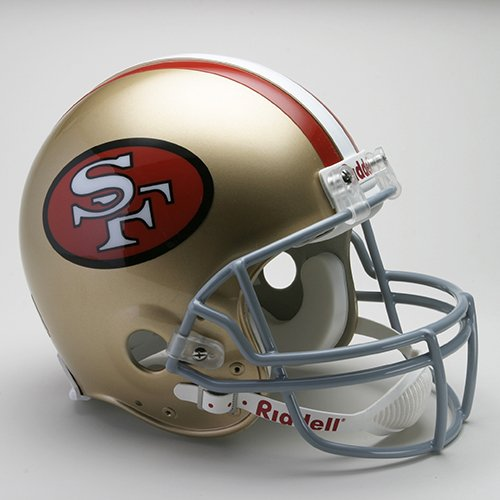Riddell San Francisco 49ers 1964-1995 Authentic Throwback (1995 Authentic Throwback Helmet)