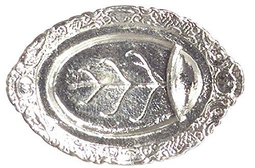 dollhouse silver tray - 6