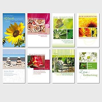50 Geburtstagskarten Natur Grusskarten Gluckwunschkarten Geburtstag