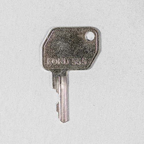 Keyman Ford-New Holland Backhoe Key-Fits Ford, New, Holland, some JCB, and other backhoes