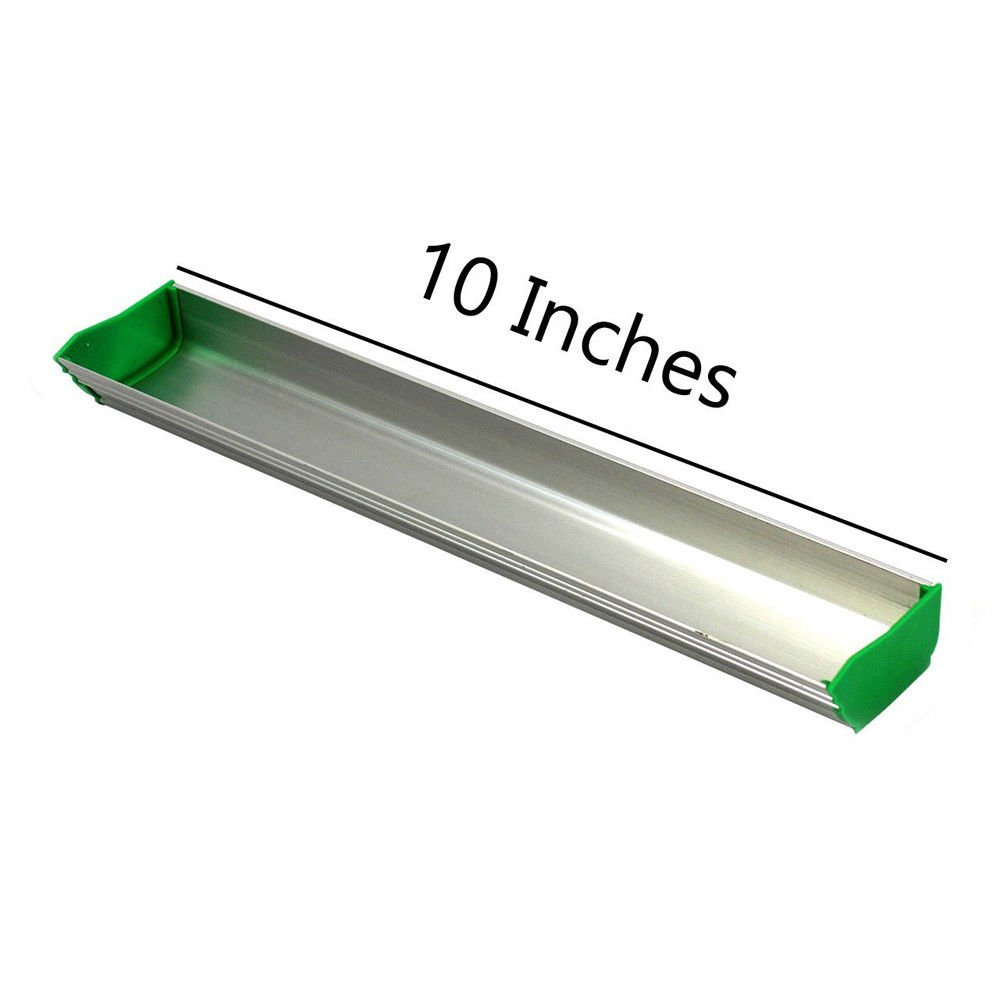Dual Edge 1pc 8 Aluminum Emulsion Scoop Coater Tool for Silk Screen Printing Press