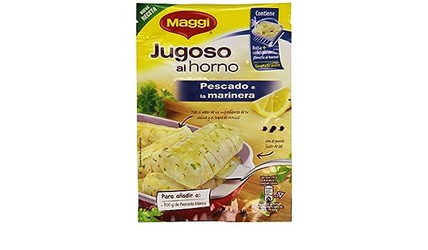 Maggi - Jugoso Al Horno Pescado A La Marinera 24 g: Amazon.es ...