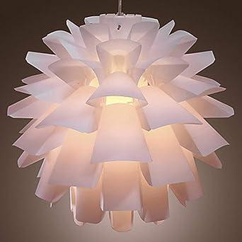 Glighone Led Hängelampe Weiß Hängeleuchte Modern Lampe Design Pendel Hängend Deckenleuchte Pendelleuchte E27 Pinienkerne Form Für Küche Esszimmer Flur