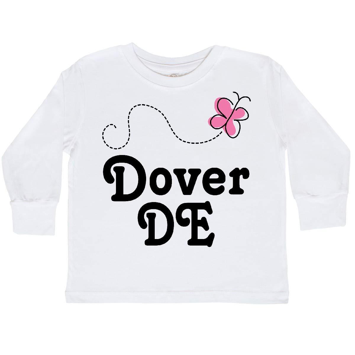 inktastic Dover Delaware Toddler Long Sleeve T-Shirt