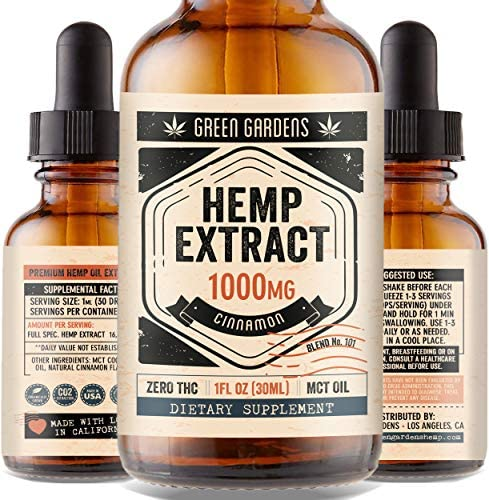 Extract 1000mg Anxiety Stress Relief