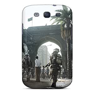 Protective Tpu Case With Fashion Design For Galaxy S3 (battlefield 3)